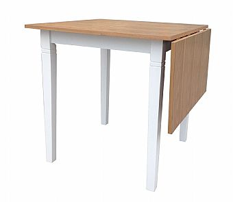 Peter Drop Leaf Table OW
